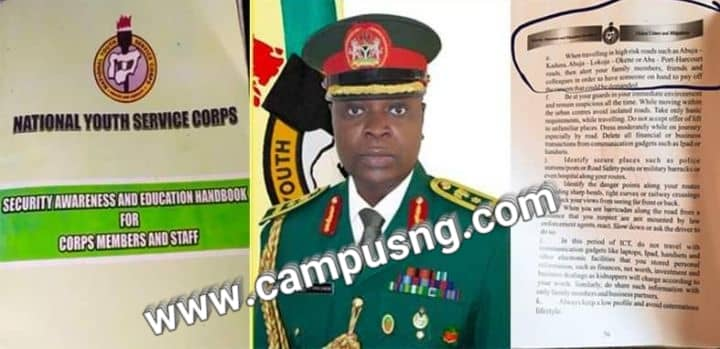 NYSC refutes clear advice for Corpers to prepare ransom when traveling high-risk roads